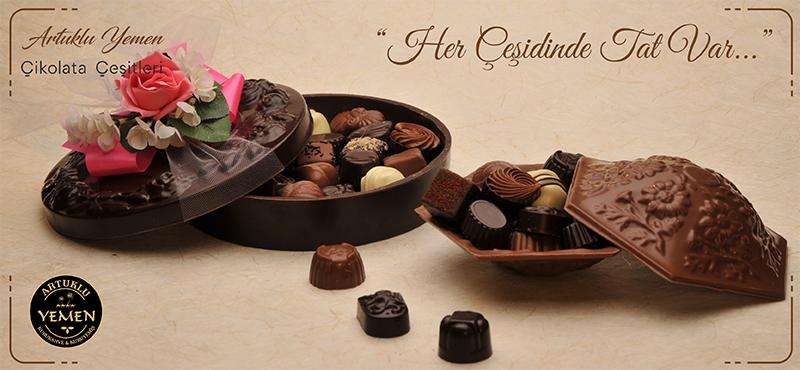 Çikolata Çeşitleri